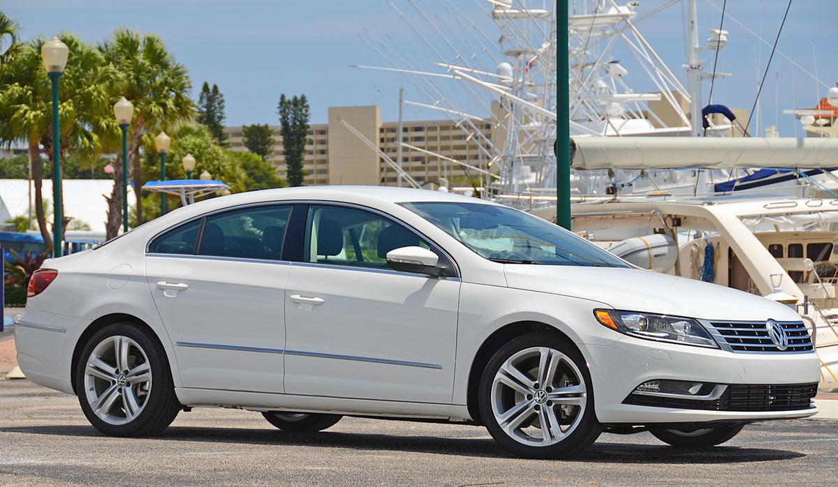 Тест-драйв - обзор Volkswagen CC 2014