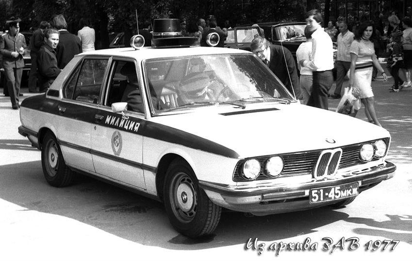 BMW 5-й серии в кузове Е12