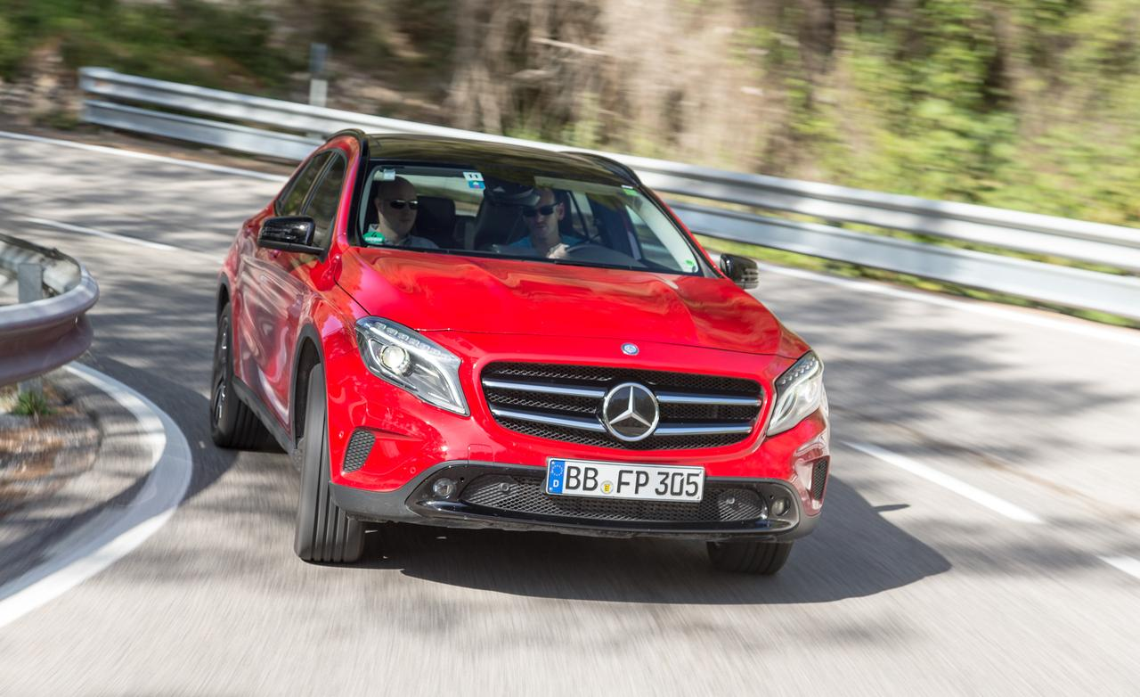 Тест-драйв новейшего Mercedes-Benz GLA