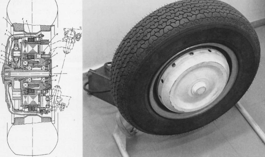 мотор-колесо ваз