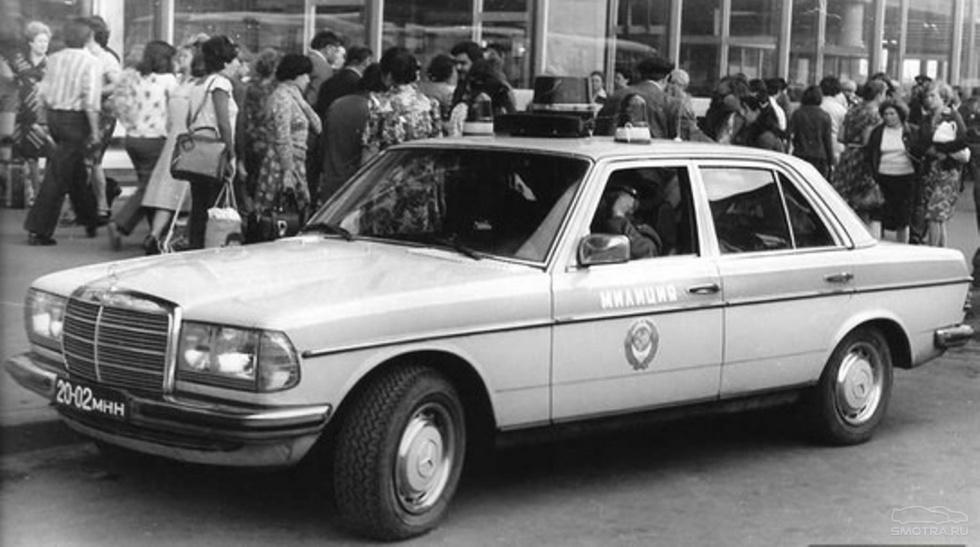 W123 ГАИ