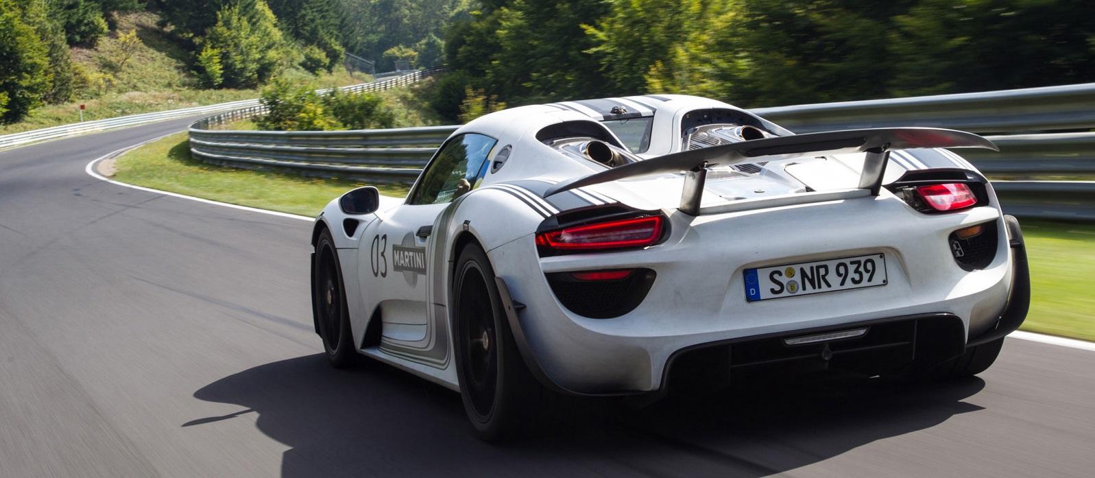 Тест-драйв Porsche 918 Spyder 2014 в Испании