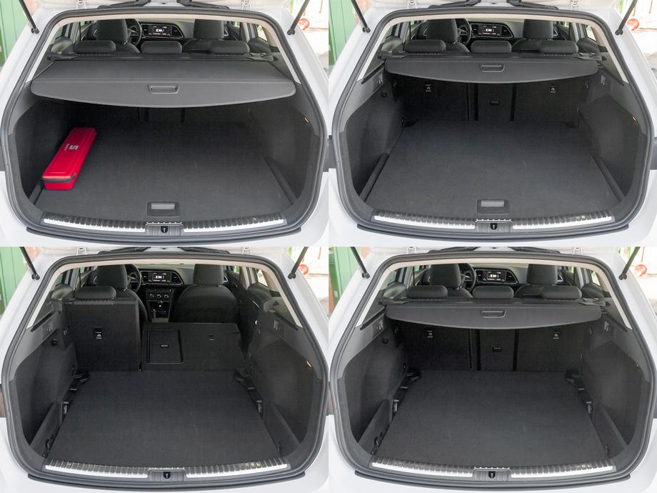Seat Leon ST 2014 багажник