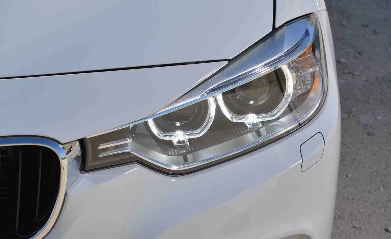 Тест-драйв - BMW 320i F30 против новых Cadillac ATS 2,5 L Ecotec 2013 и Lexus IS 250 2013