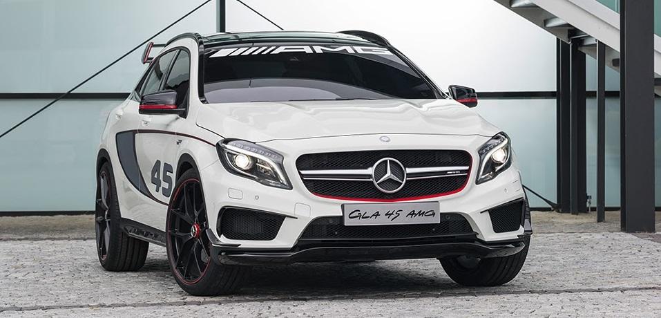 Спортивный кроссовер Mercedes-Benz GLA 45 AMG