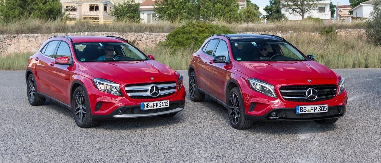 Тест-драйв новейшего Mercedes-Benz GLA-класса