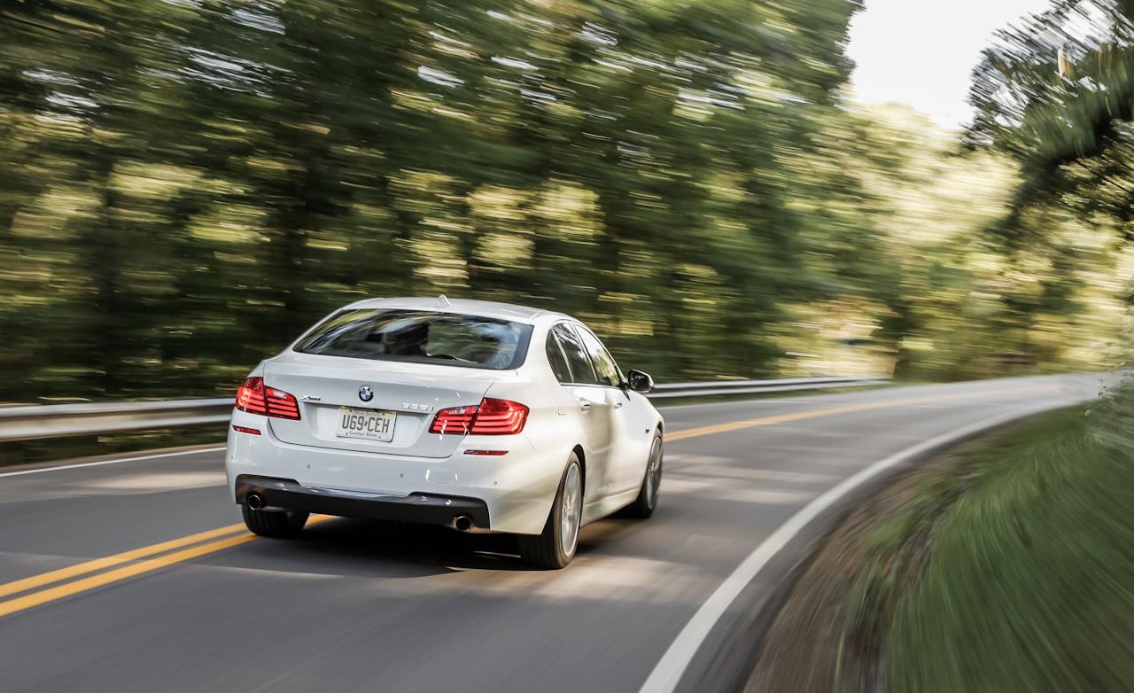 BMW 535i xDdrive F10 - рестайлинг