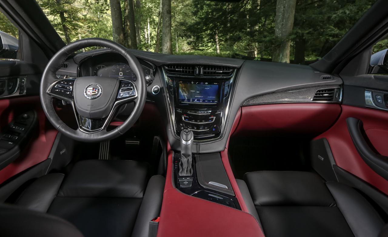 Cadillac CTS 3.6 салон