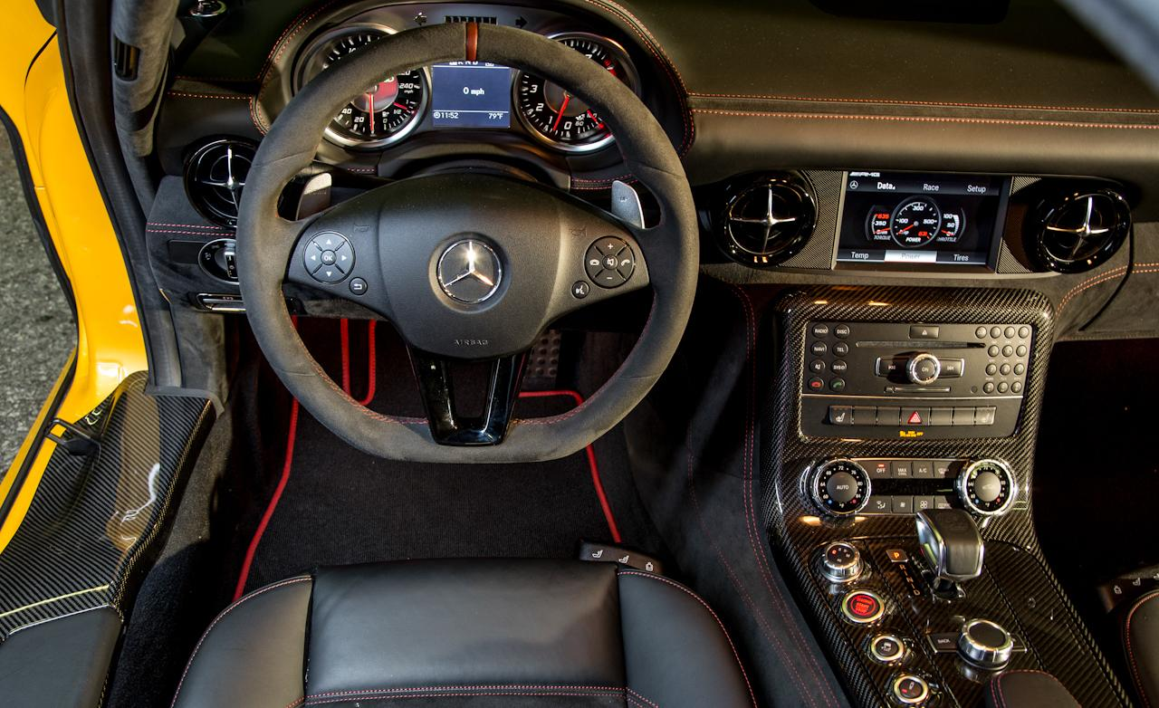 Тест Mercedes-Benz SLS AMG Black Series