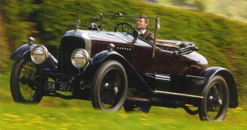 Vauxhall E-Type 30-98 1920 года