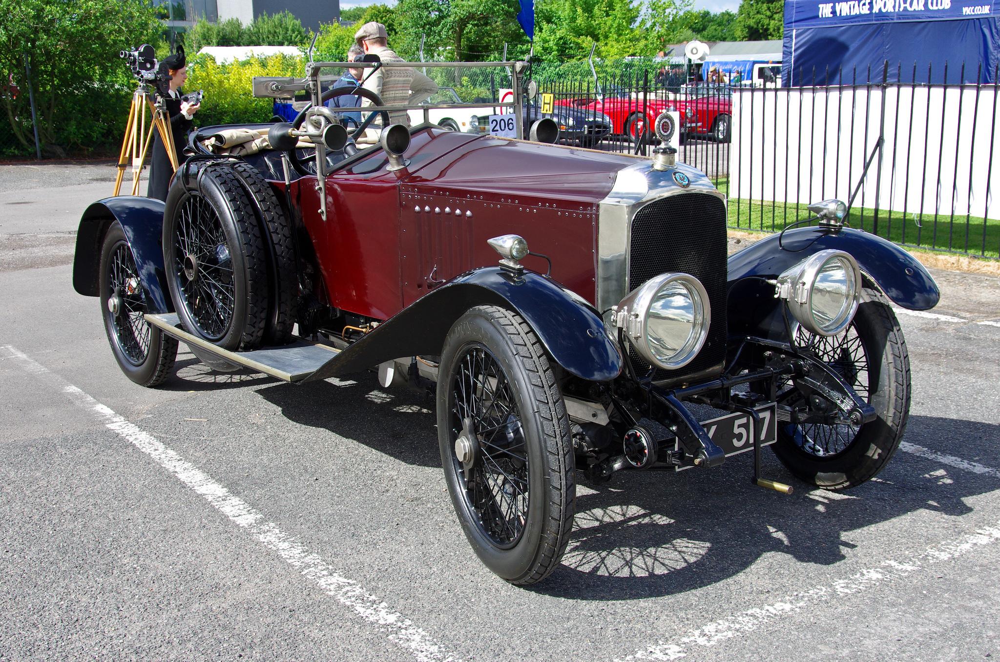 Покоритель холмов Vauxhall E-Type 30-98 1920 года