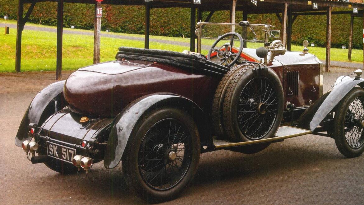 Vauxhall E-Type 30-98 1920 года с туристическим кузовом Velox