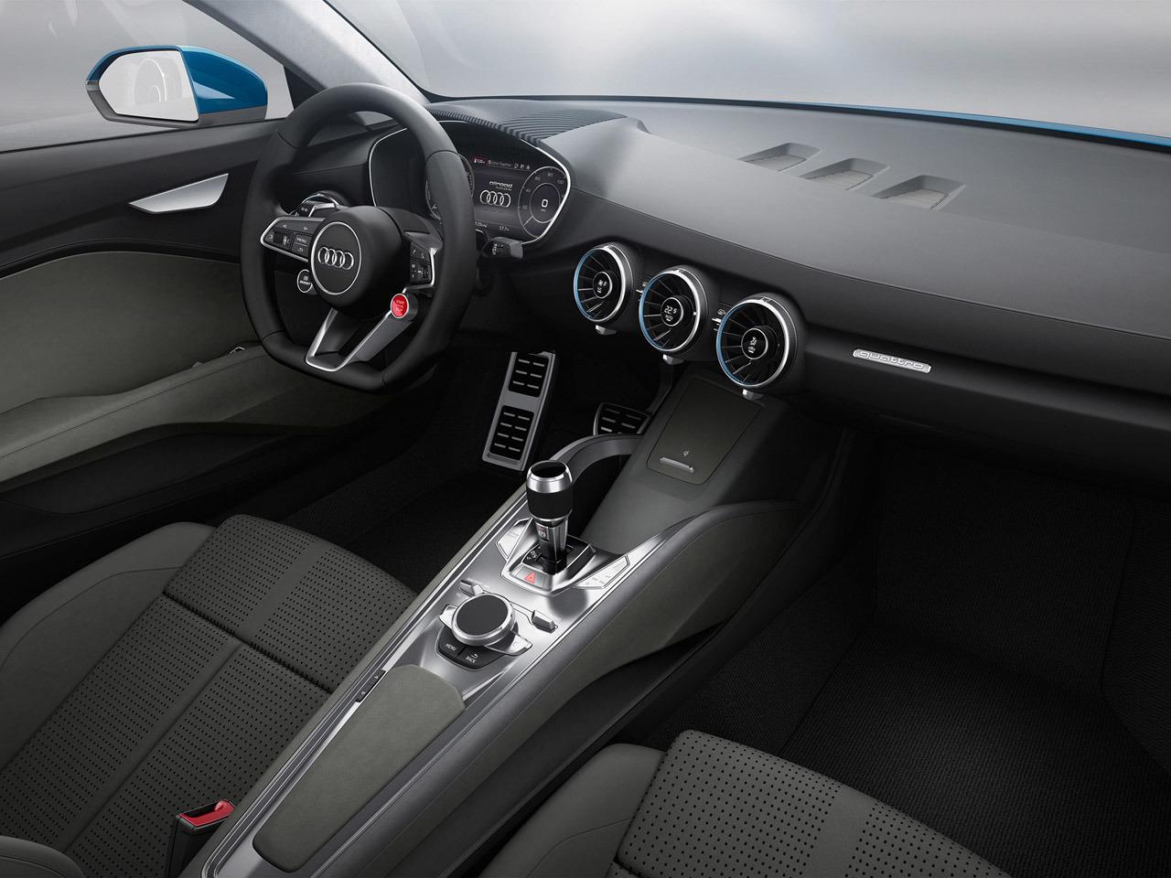 Audi Allroad Shooting Brake - интерьер