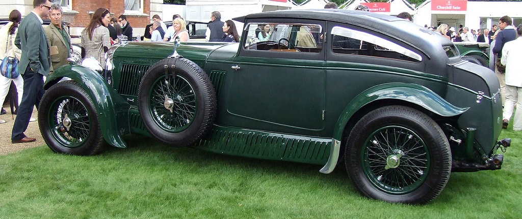 Bentley Speed-Six Gurney Nutting Sportsman Coupé (1930)