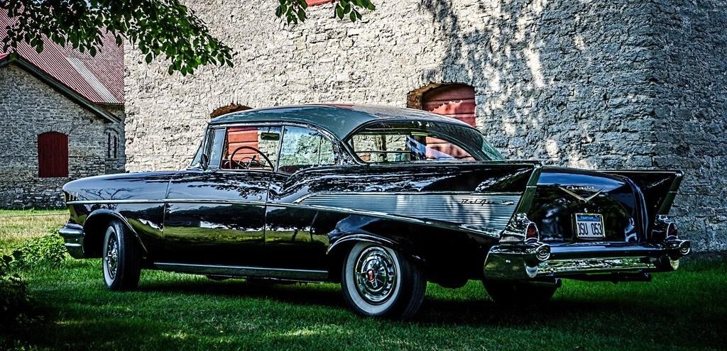 Chevrolet Bel Air - 1957 года, кузов купе