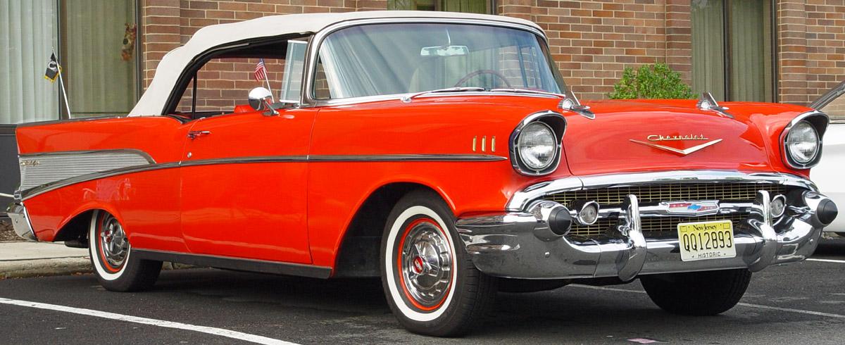Chevrolet Bel Air - 1957 года, кузов кабриолет
