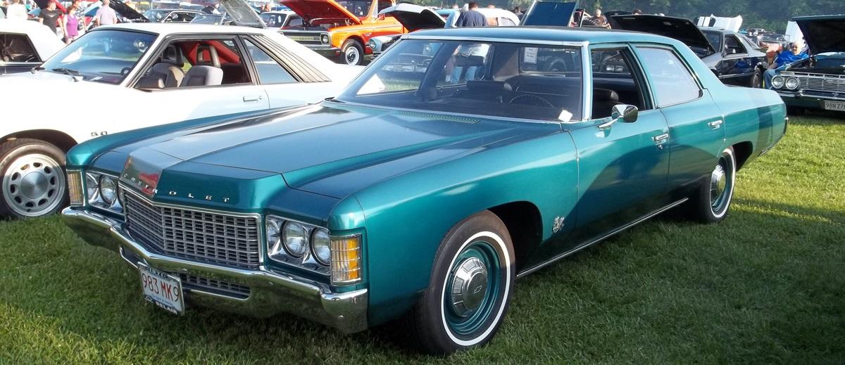 Chevrolet Bel Air 1971 года - кузов седан