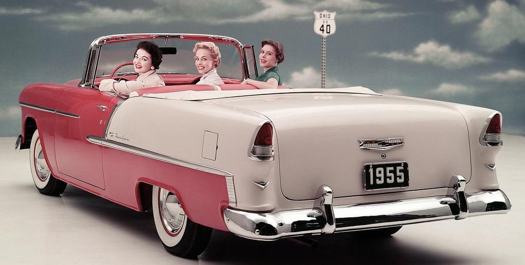 Chevrolet Bel Air Convertible -1953 года выпуска