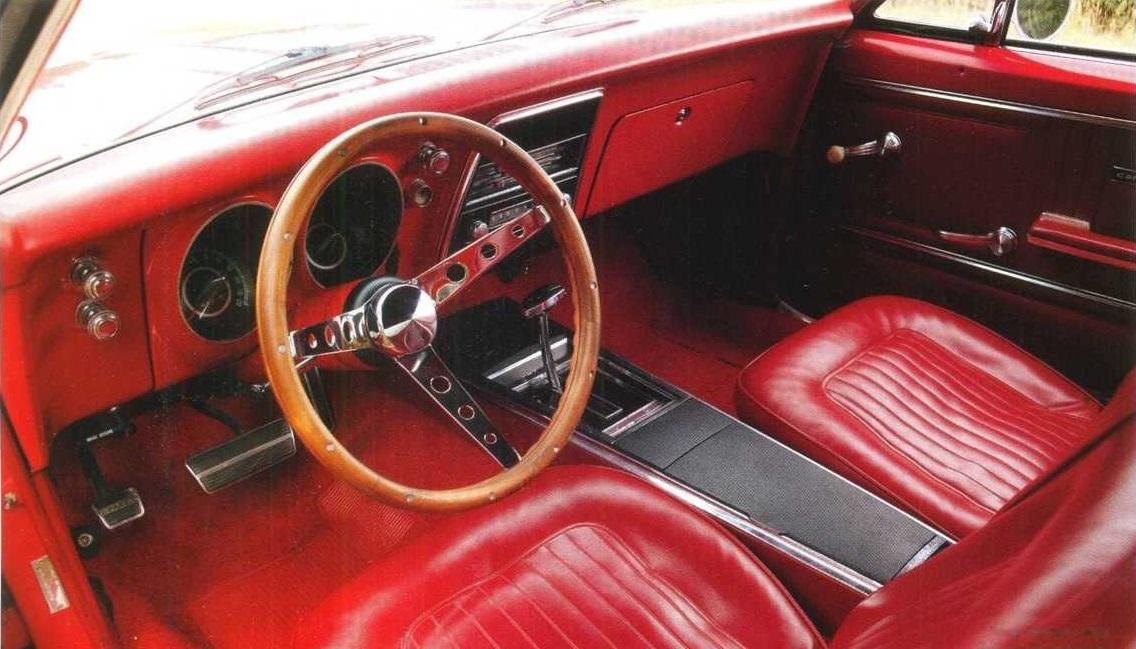 Chevrolet Camaro 1967 салон