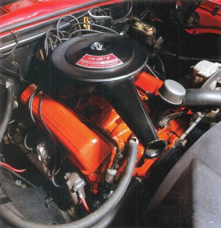 Chevrolet Camaro 1967 мотор
