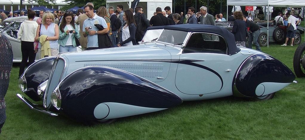 Delahaye 135M Figoni et Falaschi Torpedo Cabriolet 1937