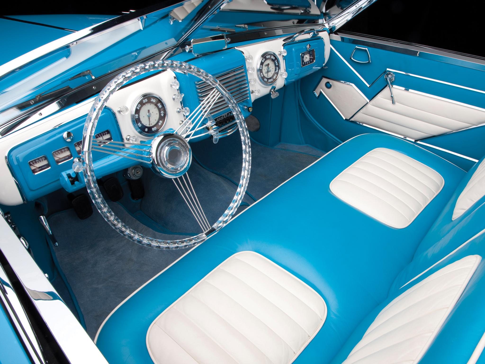 Delahaye 175 S Saoutchik Roadster салон
