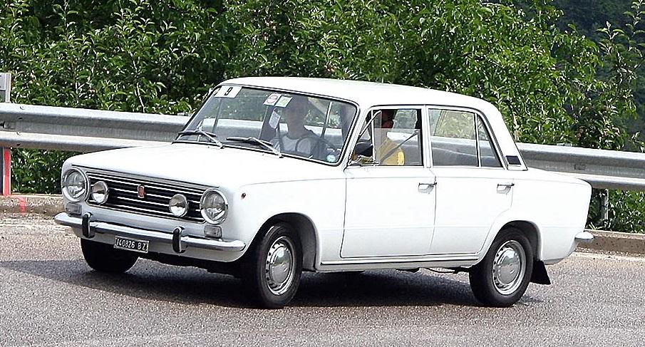FIAT 124 -прообраз ВАЗ 2101