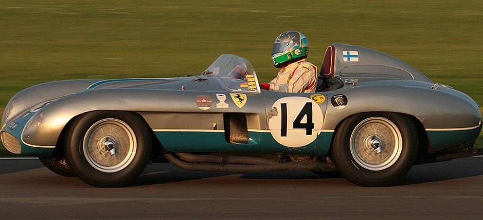 Ferrari 750 Monza 1955 года выпуска