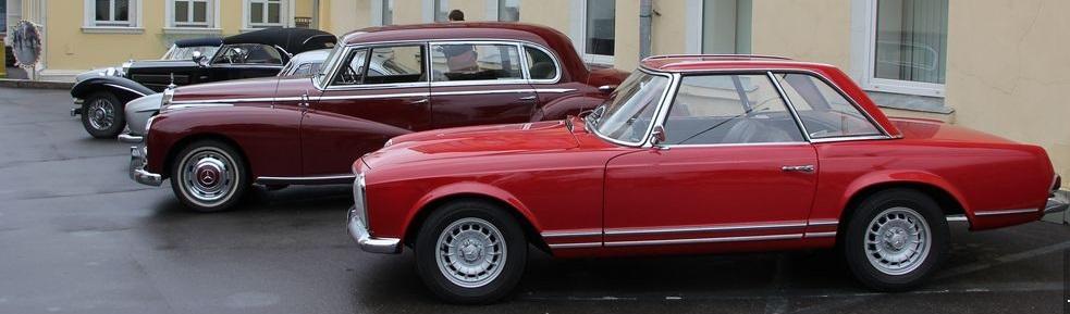 Mercedes-Benz Classic Day в Москве - 2013