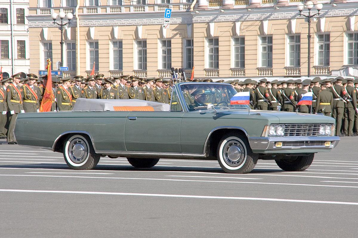 ЗИЛ-117В в парадном варианте