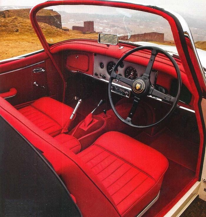 Родстер Jaguar XK150 S 3.8