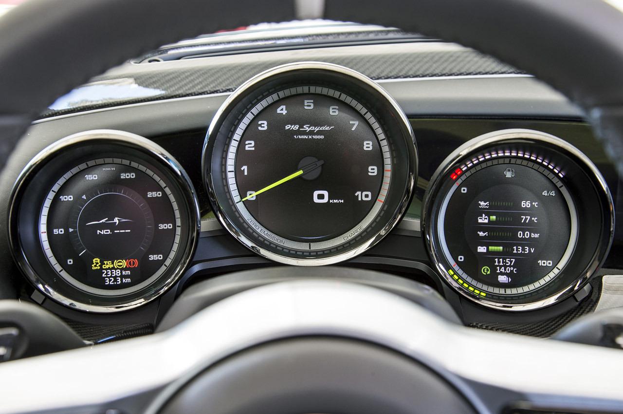 Тест Porsche 918 Spyder