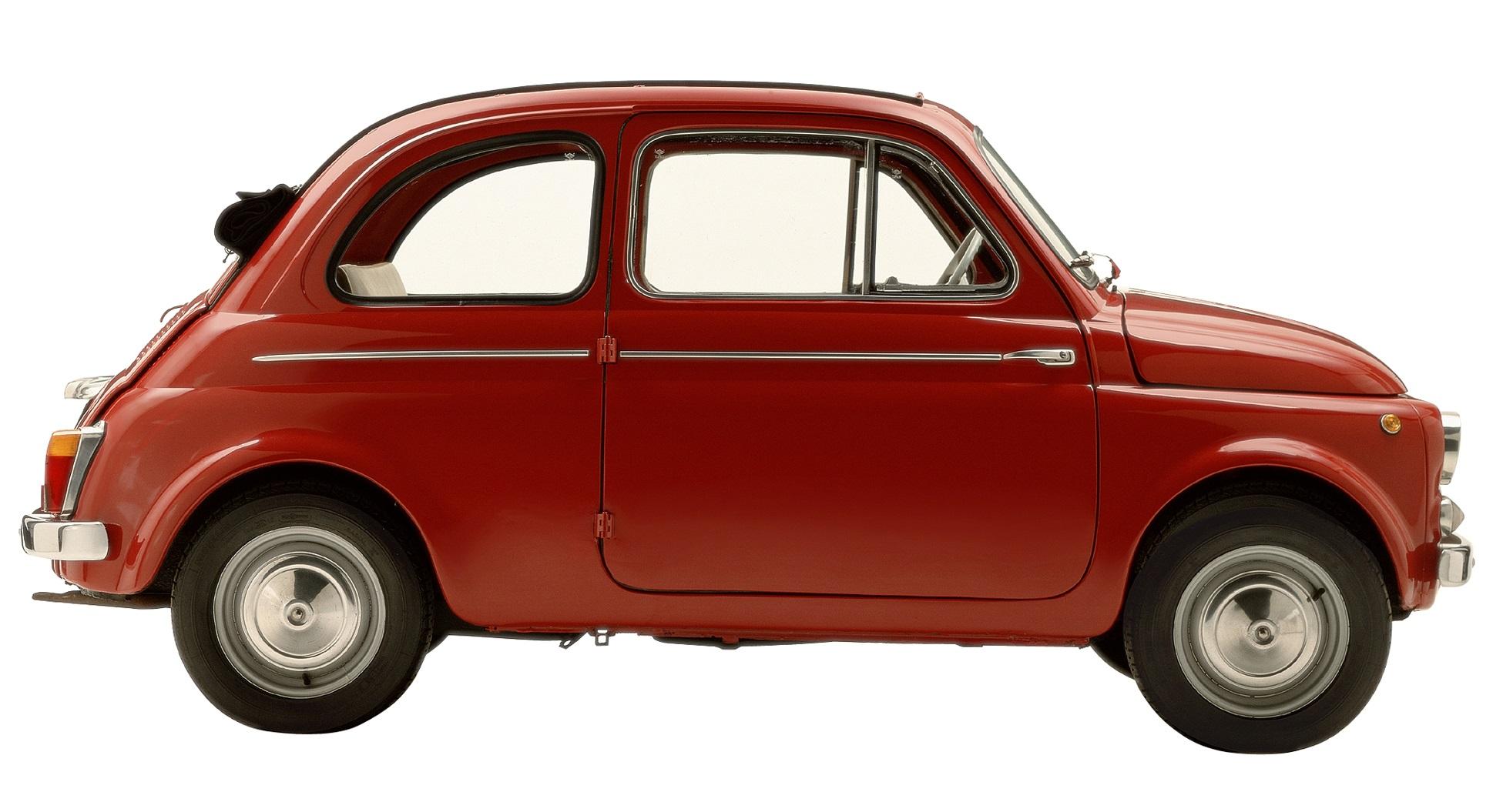 открытый Fiat 500