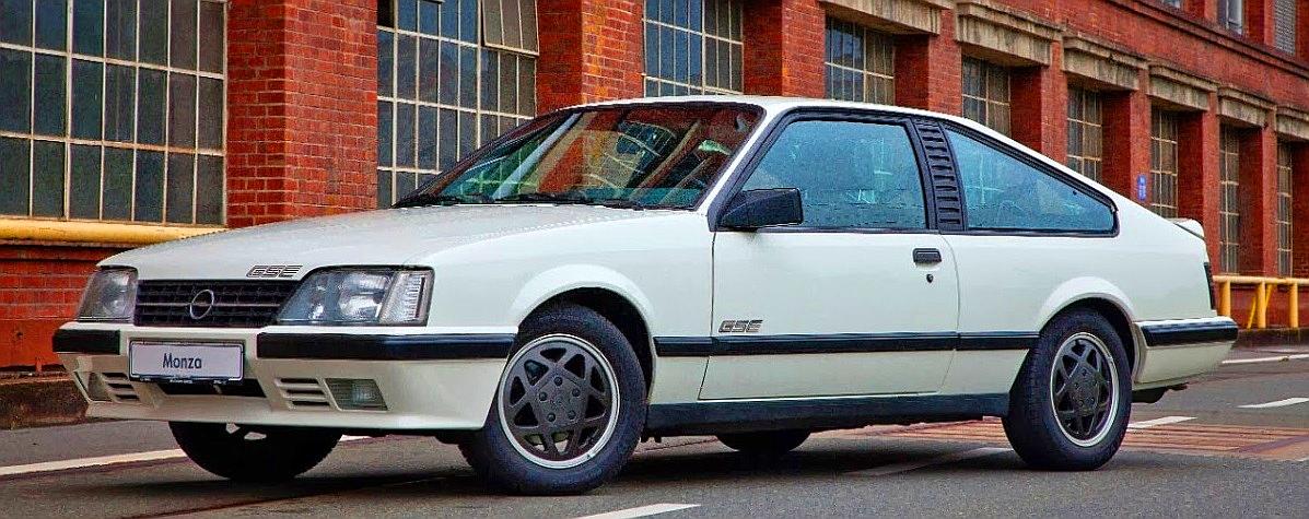 Opel Monza 1983