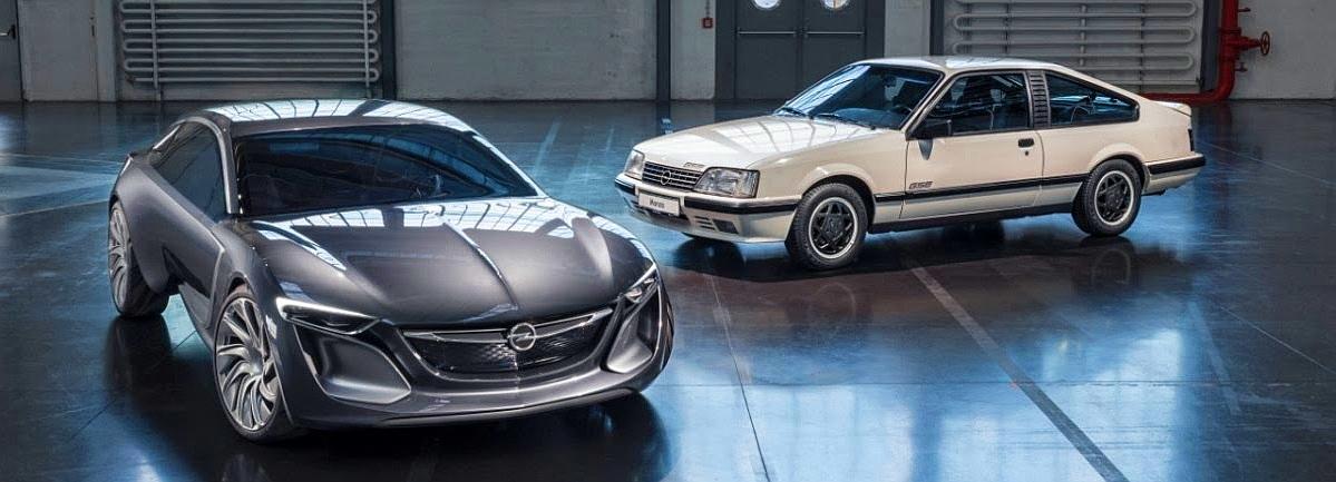 Opel Monza 2013 и Opel Monza 1983