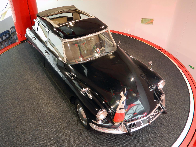 Автомобиль Citroen DS генерала Де Голля