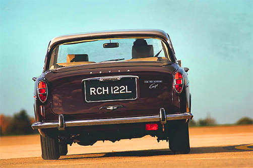 BUYER'S CHECKLIST - Rover 3.5 Litre Coupe