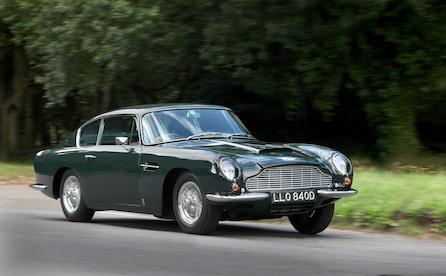 Пол Маккартни Aston Martin DB6 1966 года