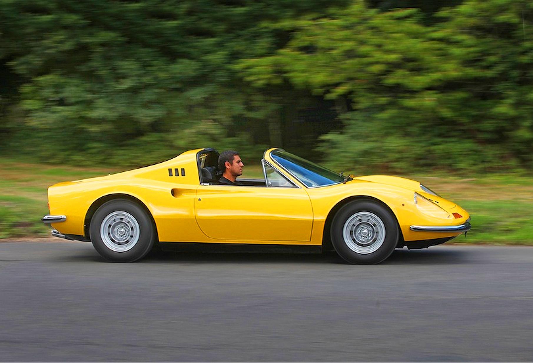 Ferrari Dino 246 Джорджа Харрисона