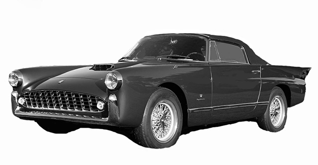 1956 Boano 250GTB Geneve Cabriolet