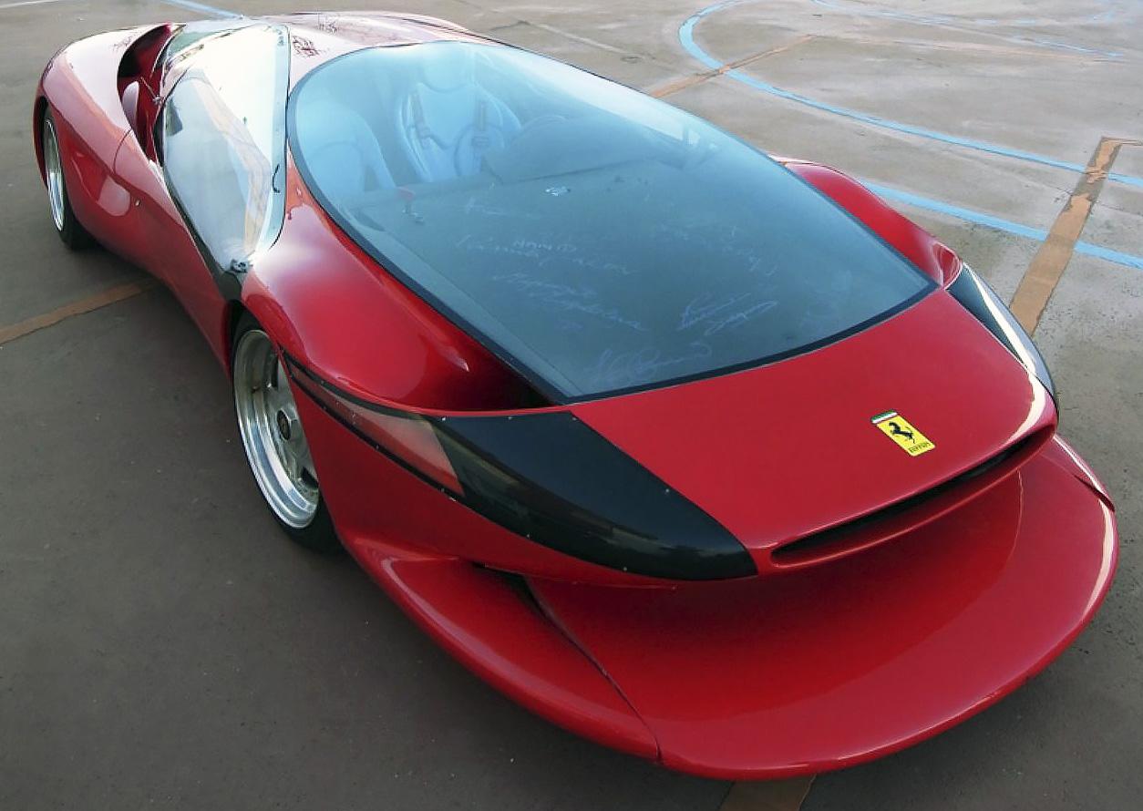 1989 Colani Testa D-Oro Ferrari concept car