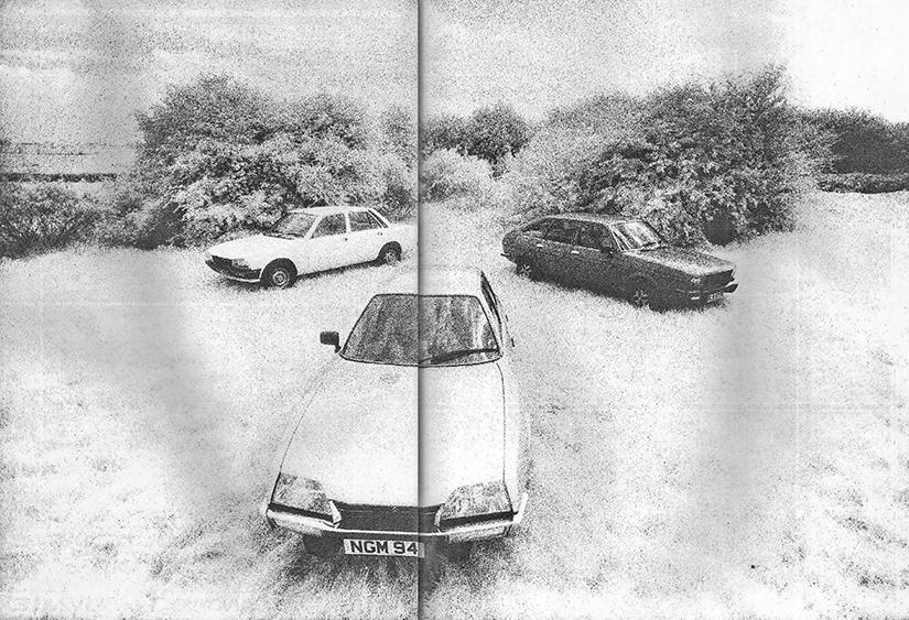 Road test drive Citroen CX2500D vs Peugeot 505GRD and Renault 20GLD