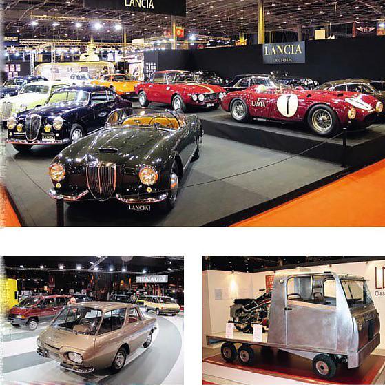 Lukas Huni's remarkable Lancia group, with D24 sports-racer and impressive Aurelia line