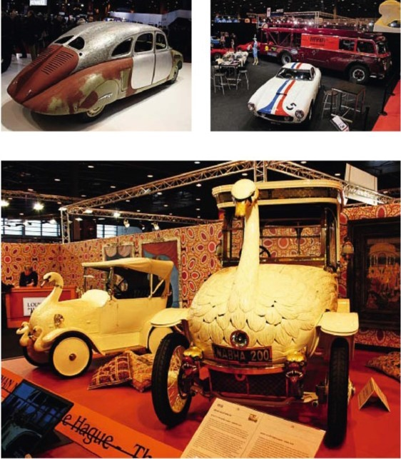 Skoda's 1935 rear-engined 935prototype Fiat transporter with Ferrari P4 and SWB