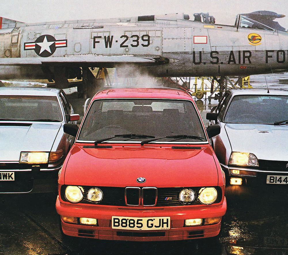 BMW E28 M535i vs. Citroen CX GTi Turbo S1 and Rover Vitesse V8