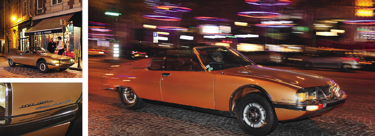 1975 Citroën SM Mylord Cabriolet by Chapron