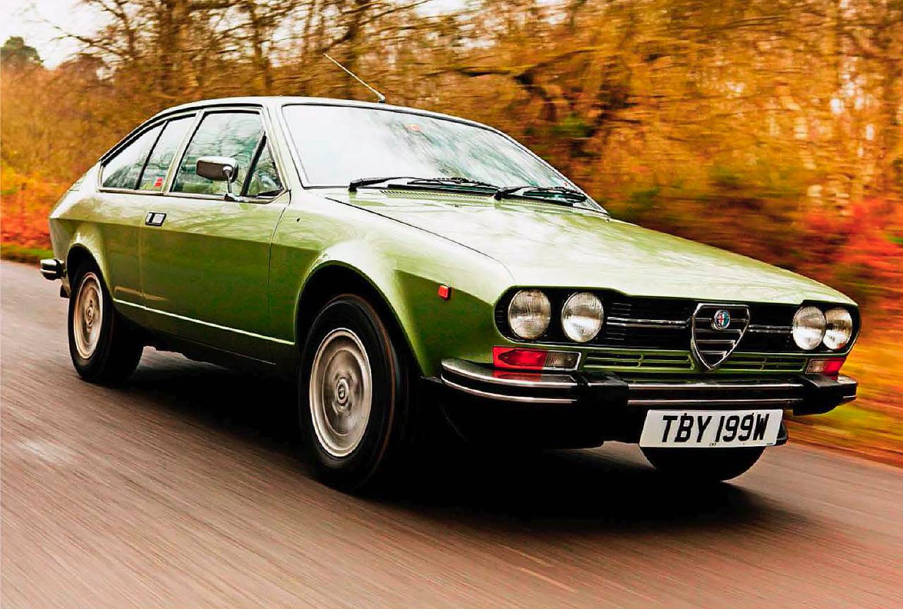 test Alfa Romeo Alfetta GTV