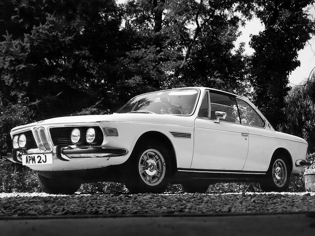 BMW 3.0 CS E9 test