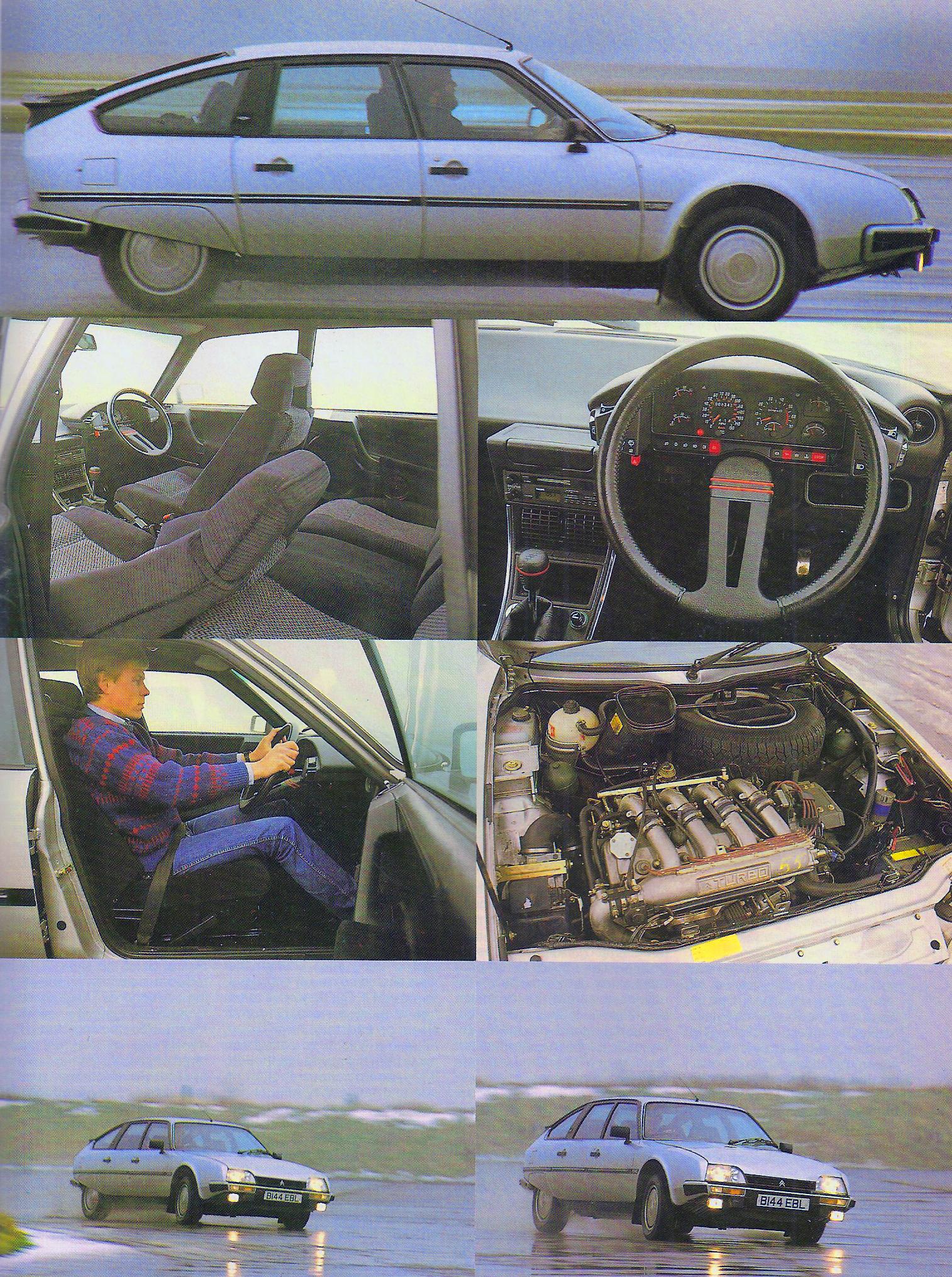 test drive Citroen CX GTi turbo