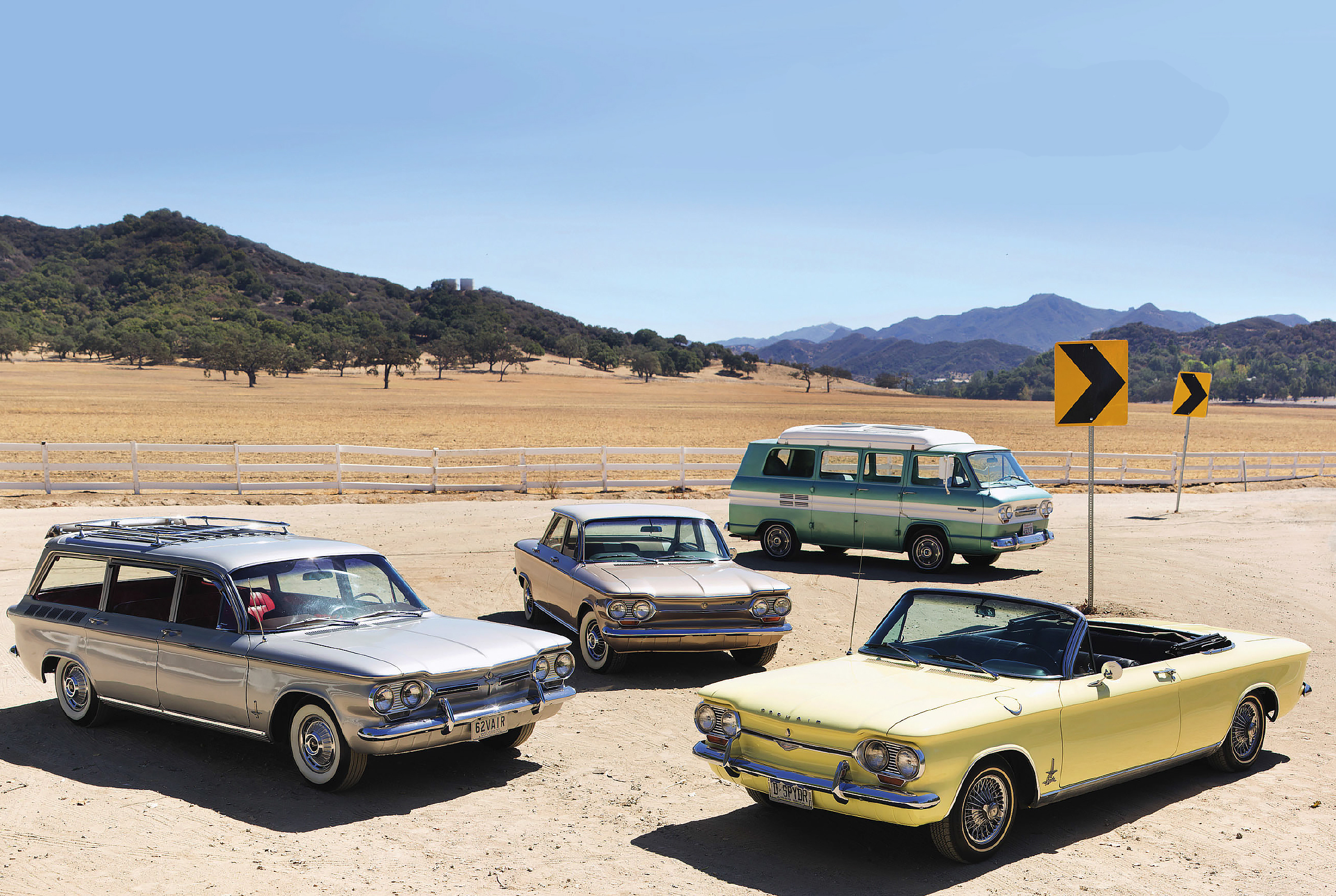 Chevrolet Corvair family